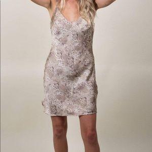Victoria's Secret Snakeskin Print Slip Nightie